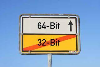 64-bit 32 bit