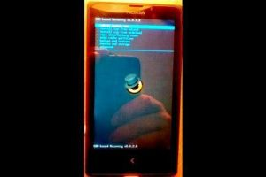 Install CWM in Nokia X