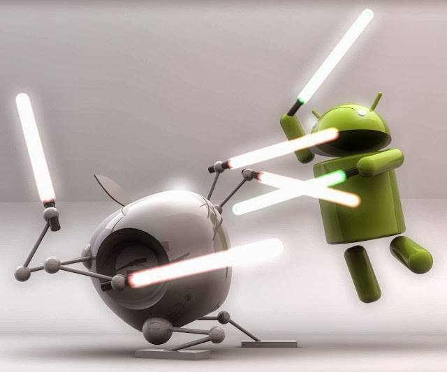 Android-fights-with-Apple