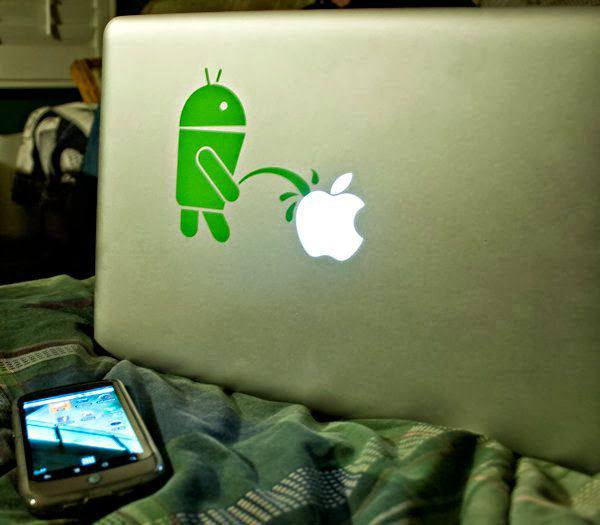 android-mocking-apple