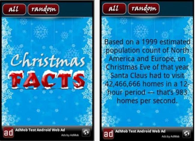 Christmas Facts Screenshots