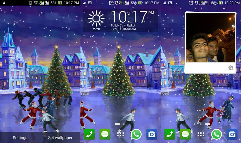 Christmas-Rink-Live-Wallpaper