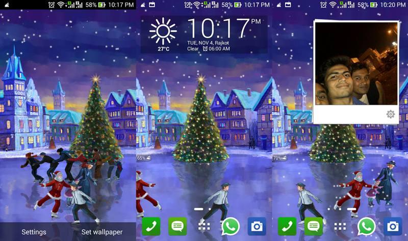 Christmas-Rink-Live-Wallpaper
