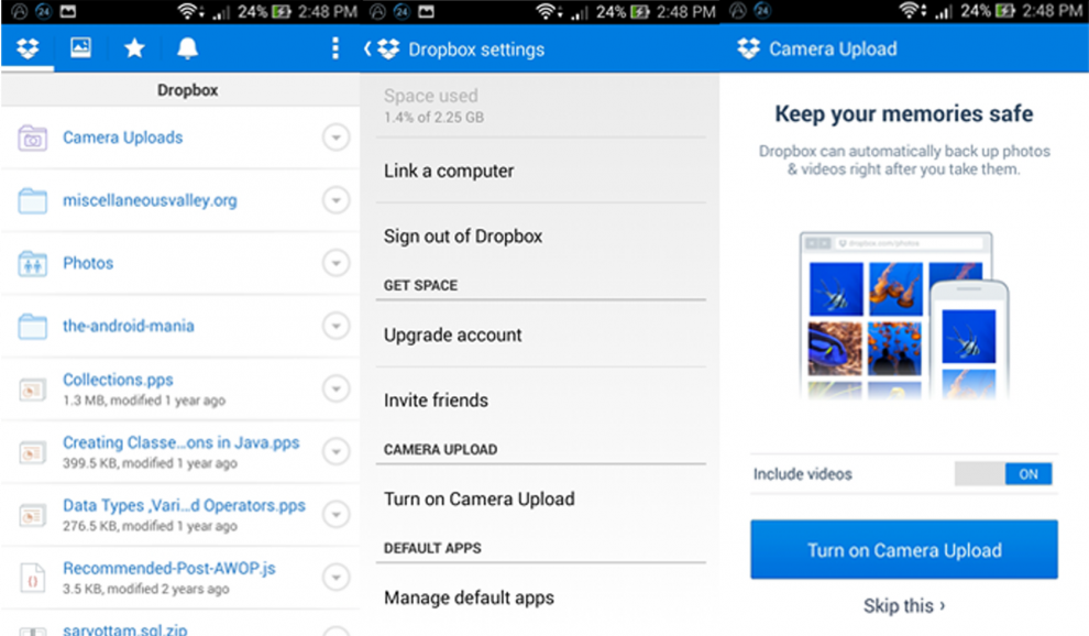 dropbox-for-android