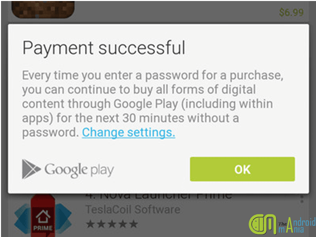 google play service payment