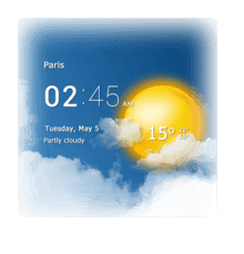 transparent-clock-weather-android-app