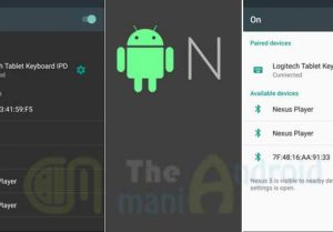 Android N leaked : navigation drawer update