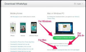Official WhatsApp Desktop App Released For Windows PC and Mac OS X