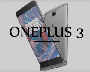 Oneplus 3 Specifications and Giveaway