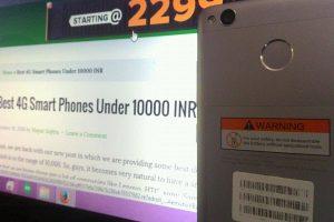 Best 4G Smart Phones Under 10000
