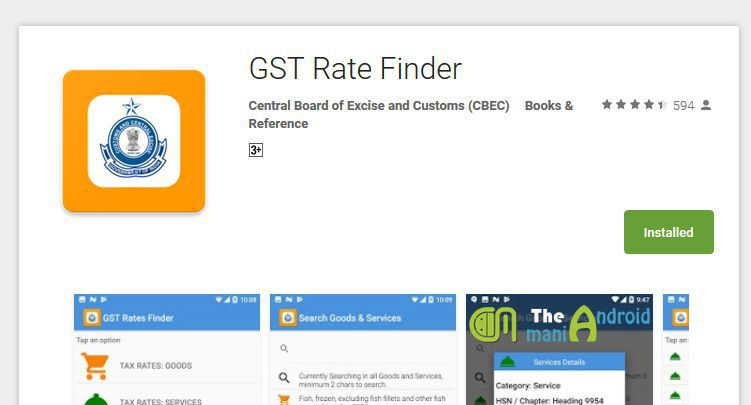 GST-Rates-Finder-Application