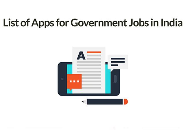 List of Apps for Government Jobs in India