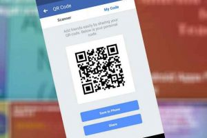 facebook qr code scan