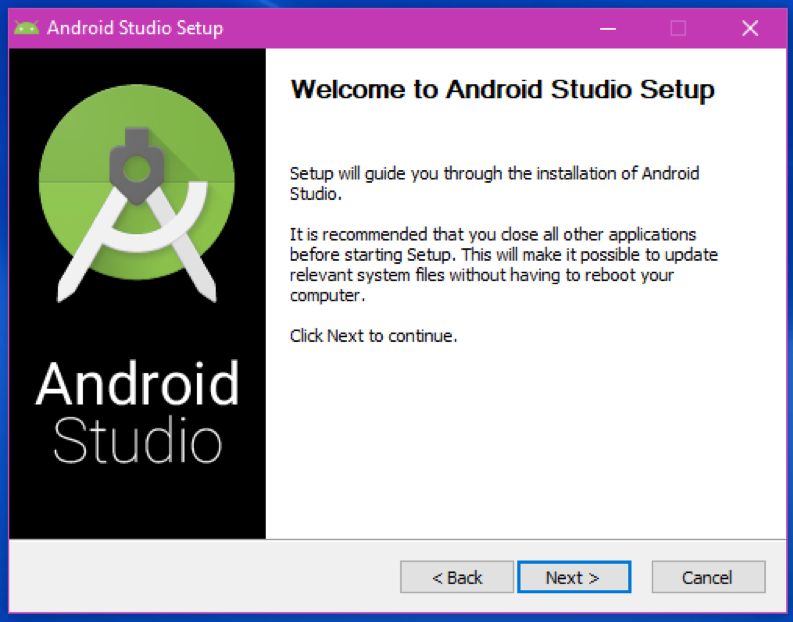 Android Studio Setup - The Android Mania