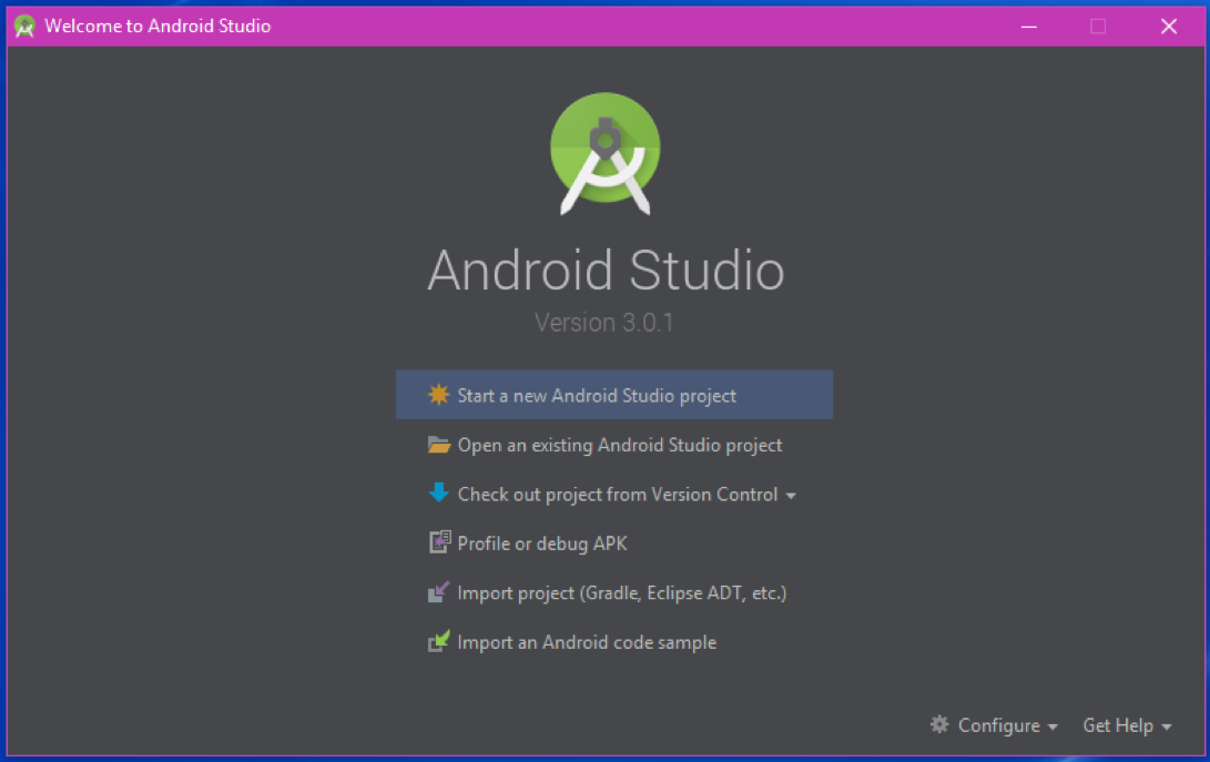 Welcome Android Studio - The Android Mania