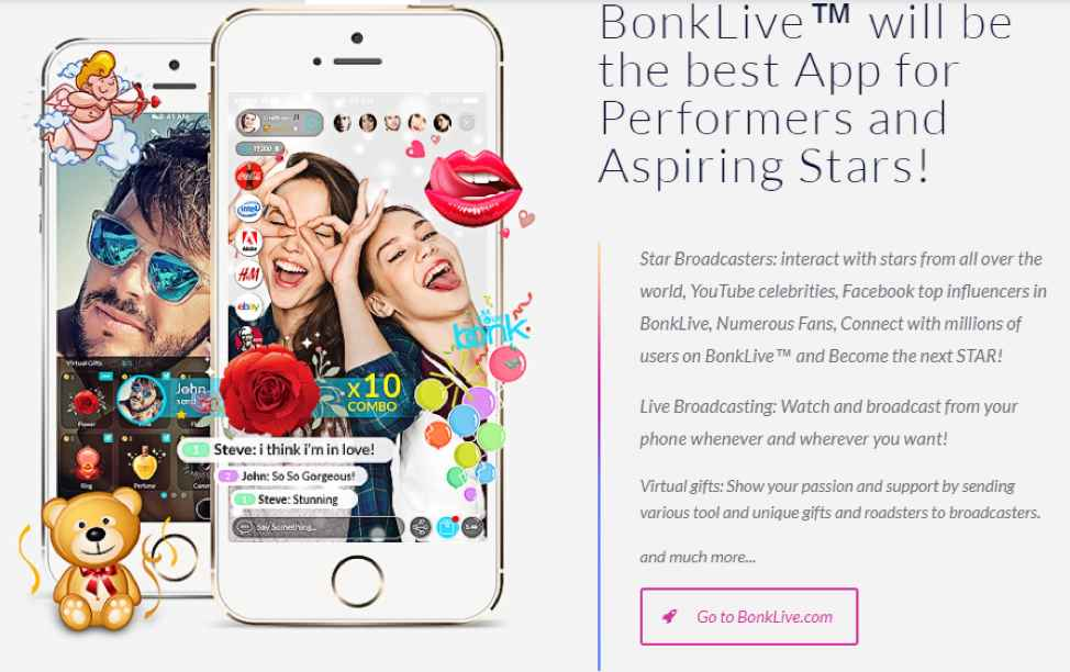 BonkLive The Best Broadcasting App - The Android Mania
