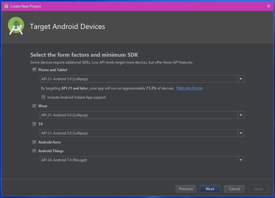 Målret mod Android-enheder - Android Mania